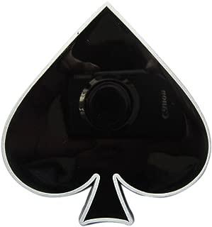 New Vintage Ace of Spade Poker Belt Buckle Gurtelschnalle