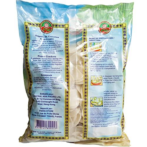 Pan de Gambas Chino para Freír - [Pack 1KG] -