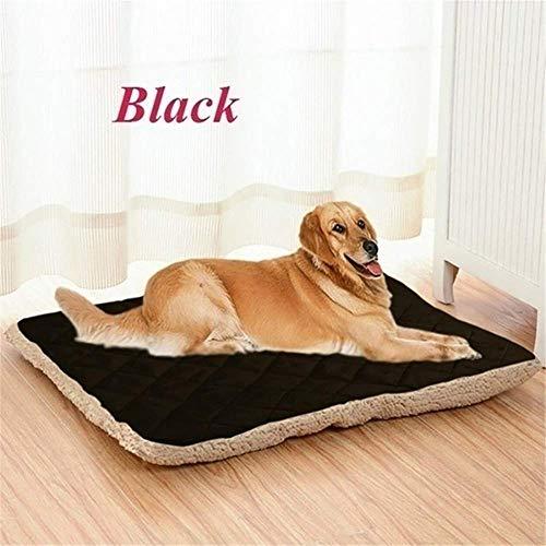 CHSDN Lados Felpa Estera para Mascotas Suave y cálida Cama para Perros y Gatos Perrera Camas para Dormir para Perros pequeños medianos Grandes Manta para Mascotas
