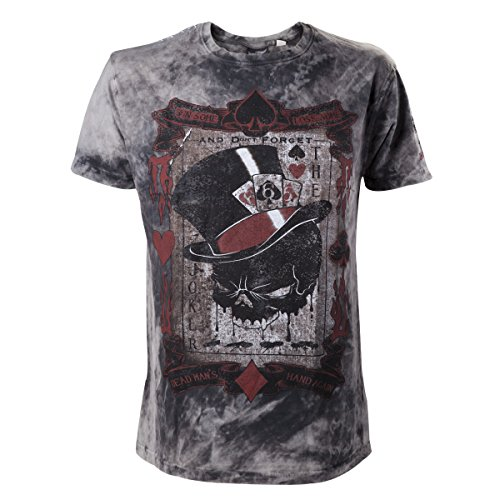 Alchemy T-shirt The Dead Draw Black-XXL