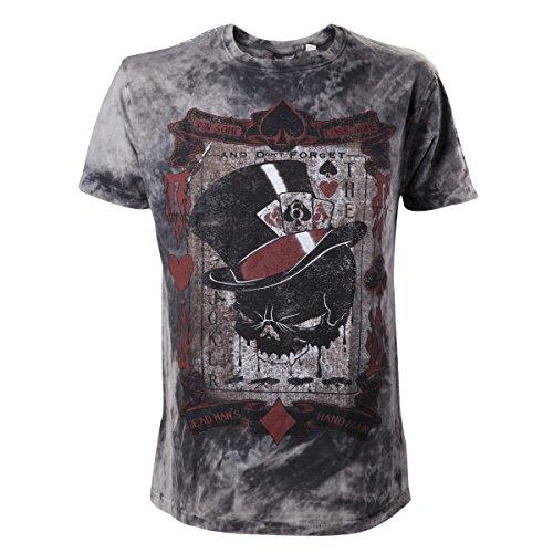 Alchemy T-shirt The Dead Draw Black-XXL