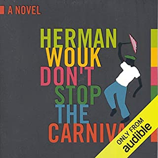 Don't Stop the Carnival audiobook cover art