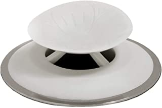 SlipX Solutions Snug Plug Bath Drain Stopper Seals Tightly Around Drain (Fits 1.5