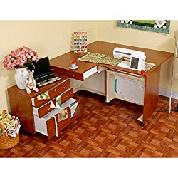 Premium Pick for Best Sewing Cabinet: Kangaroo Kabinets Kangaroo and Joey Sewing Cabinet