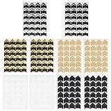 KIMI-HOSI 10 Hojas Esquinas para Fotografías 240 Piezas Esquinas Autoadhesivas de Foto Multicolor Photo Corners para DIY álbumes Recortes, álbum Fotos, Diario, Notas de Viaje
