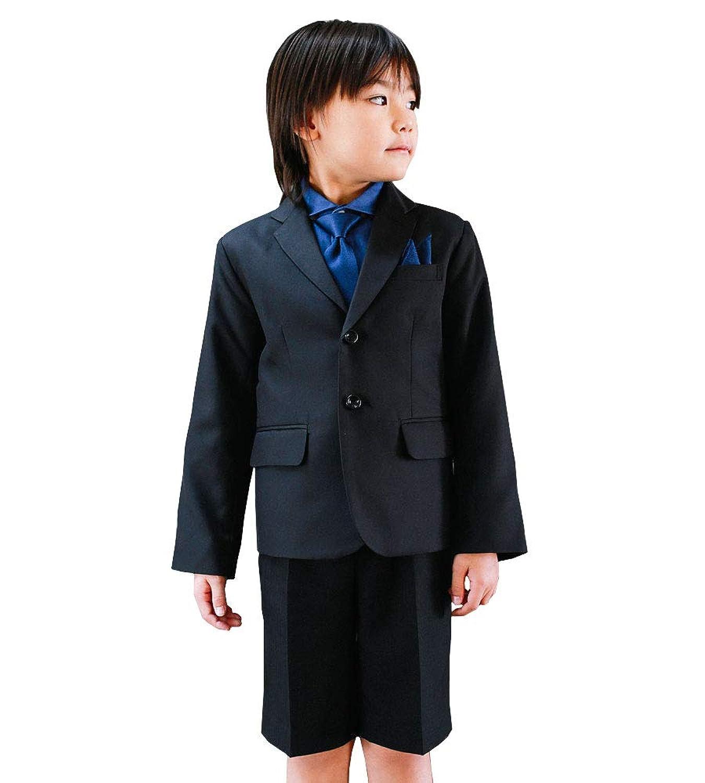 男の子 フォーマル 入学式 スーツ 男の子 スーツ6点セット 半ズボン 卒園式 フォーマル 発表会 結婚式 [リトルリード] LITTLE LEAD 31603?31604