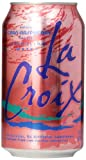 LaCroix Sparkling Water, Cran-Raspberry, 12 Fl Oz, Pack of 12