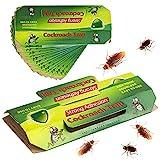 Trampas Cucarachas 22 Piezas Trampa para Cucarachas Adhesivas Pegamento Cucarachas Profesional【22 Piezas】
