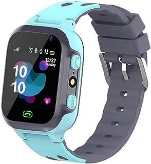 Barn Watch Q16 Vattentät Wrist Game Smartwatch Plats med kamera väckarklocka SOS för Pojkar Flickor Blå