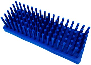 PUL FACTORY Plastic Test Tube Stand for Drying Test Tube (Blue, 102-Well)