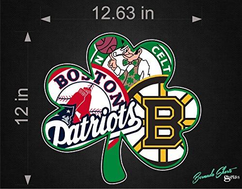 Boston Sports Fan New Shamrock Logo / SINGLE / 12