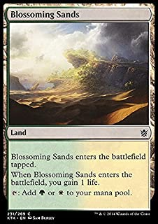 Magic: the Gathering - Blossoming Sands (231/269) - Khans of Tarkir by Wizards of the Coast