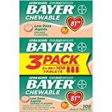 Aspirin Regimen Bayer 81mg Chewable Tablets |...