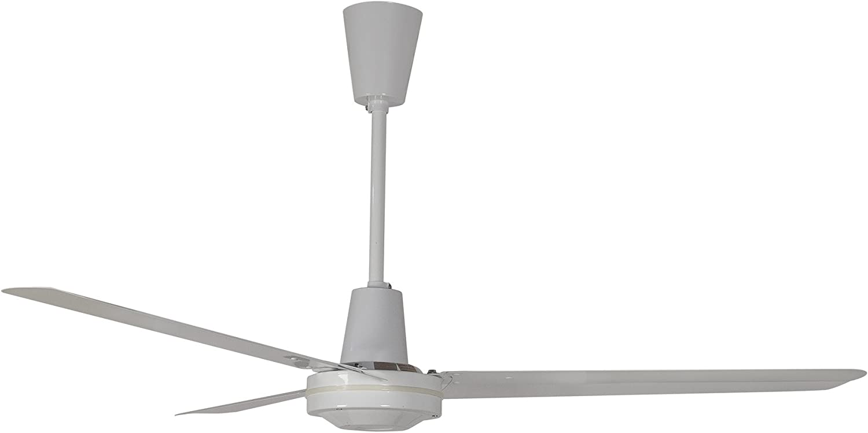 Leading Edge 56HRCF Commercial Ceiling Fan, 19800 280 CFM, White