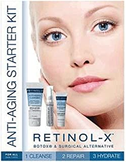 Retinol-X Anti-aging Starter Kit, 6.6 Ounce