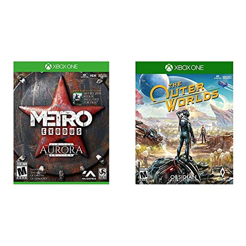 Metro Exodus: Aurora Limited Edition - Xbox One & The Outer Worlds Xbox One