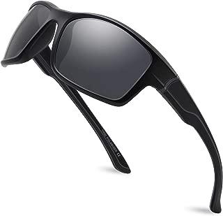 Polarized Sports Sunglasses for Men Women for Running Fishing Driving MJ8014