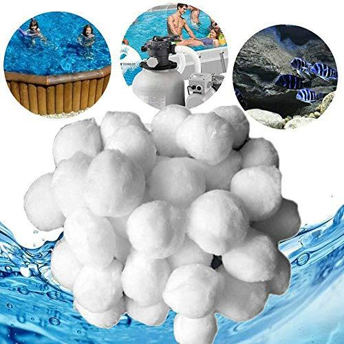 Sumshy - Palle filtranti da 1400 g, accessori per impianto di filtraggio, ecologiche,...