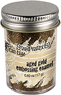 Stampendous Aged Embossing Enamel, 0.65-Ounce, Gold