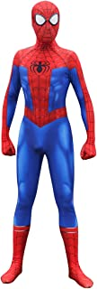 Unisex Lycra Spandex Zentai Halloween Into The Spideverse Cosplay Costumes Suit Adult/Kids 3D Style