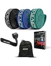 ActiveVikings® Pull-Up stoffen fitnessbanden, perfect voor spieropbouw en crossfit freeletics calisthenics, fitnessband, optrekbanden, weerstandsbanden