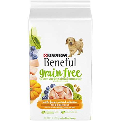 Beneful Grain-Free Dry Dog Food with Farm Raised Chicken (M)