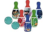 PJ Masks- Set bolos de plástico (Amijoc Toys 2927) , color/modelo surtido