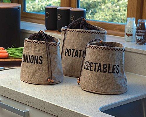 New Hessian Potato Preserving Bag Sack Blackout Lining Potatoe Preserve