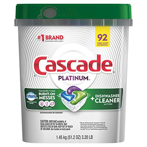 Complete ActionPacs Detergente para lavavajillas, Platino (92 Pacs Platinum)