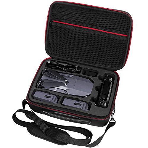 Ropch Tragetasche für DJI Mavic Pro Tasche Aufbewahrungstasche Dauerhafte schützende leichte Transportkoffer Organizer für DJI Mavic Pro und Zubehör