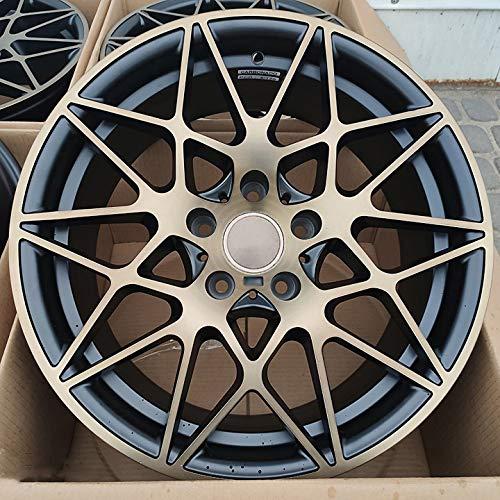 Carbonado LLANTA 5x120 Mod. M4 GTS 18 Pulgadas Negro Mate/Dorado