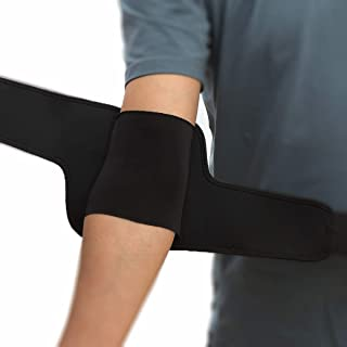FJZLIFE Compression Recovery Elbow Sleeve &Neoprene Elbow Support/Brace. Protect Elbow During Workouts Weightlifting, Power Lifting and Cross Training, for Relief of Golfers and Tennis Elbow.