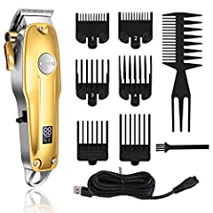 PROFESSIONAL HAIR CLIPPERS: From Kemei professional commercial products, the Kemei 1986 Pro is designed for more smooth, sharp, precise performance that compared with Kemei 1986. We try our best to provide excellent product and service for you FEATUR...