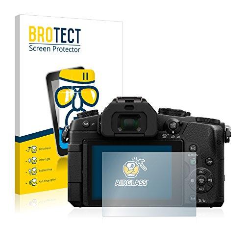 BROTECT Panzerglas Schutzfolie kompatibel mit Panasonic Lumix DMC-G81 - AirGlass, extrem Kratzfest, Anti-Fingerprint, Ultra-transparent