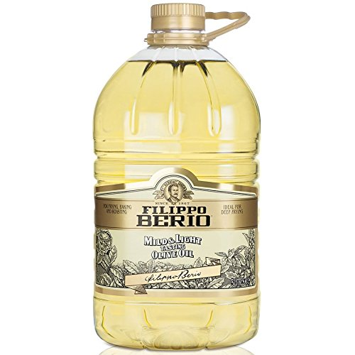 Filippo Berio Mild & Light Olive Oil 5Litres For Frying, Baking and Roasting