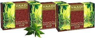 Vaadi Herbals Becalming Tea Tree Soap Anti Acne Therapy, 75g x 3
