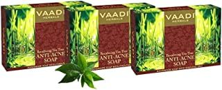Vaadi Herbals Becalming Tea Tree Soap Anti Acne Therapy, 75g x 3