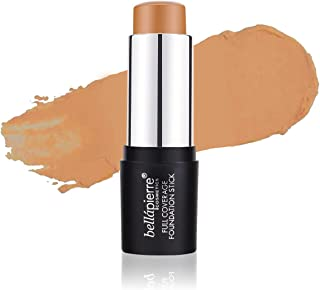 bellapierre Full Coverage Matte Foundation Stick | Smooth, Flawless Finish | Conceals Pores and Imperfections | Non-Toxic ...