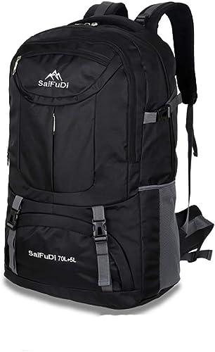 ZCCBB Sac à Dos Tourisme de Grande capacité Sac à Dos Homme Sac de Voyage Sac d'école Sac d'alpinisme en Plein air (Taille   65L)