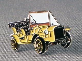 """Mainly Metal, spilla in metallo smaltato a forma di auto """"Bessie"""" di Dr. Who"""