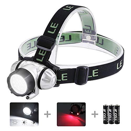 LE LED Headlamp Flashlight, Headlight with...