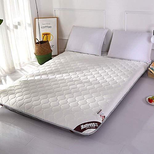 FF Premium Premium thick mattress, quilted non-slip padded, Tatami folding folding mat Queen-king mattress Topper Carpet-a1 90x190x5cm (35x75x2inch)