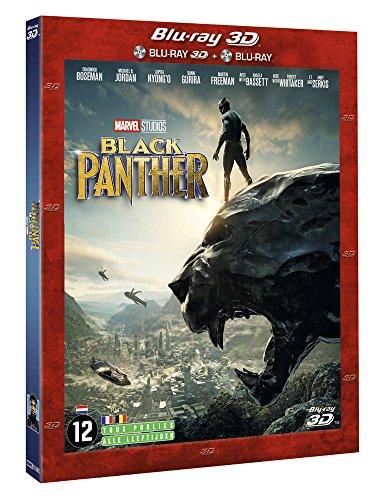 Black Panther Blu-ray 3D + 2D - Marvel [Blu-ray 3D + Blu-ray 2D]