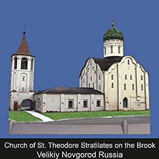 Church of St. Theodore Stratilates on the Brook Velikiy Novgorod Russia cover art