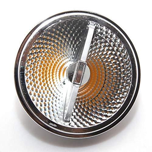 Z.L.FFLZ Luces, Super Brillante AR111 15W COB LED Downlight AR111 QR111 G53 Bombilla LED de luz Regulable llevó la lámpara de AC110V / 220V / 12V CC Lámpara eléctrica Solar