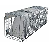 Easipet Humane Squirrel Trap, Heavy Duty Metal Trap for Live Release