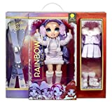 Rainbow High Winter Violet Willow – Purple Fashion Doll and Playset with 2 Designer Outfits, Pair...