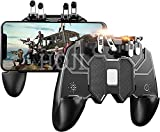 Ceuta Retails® Mobile Game Controller with 4 Triggers Compatiple for PUβG/COD Mobile Fotnite