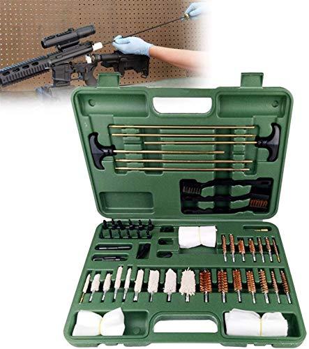 MARHD Kit De Limpieza De Armas, Accesorios De Pistola, Herramientas De Limpieza, 3 Varillas De Latón Macizo para 30-Cal Y Rifles Más Grandes, Pistolas Escopetas