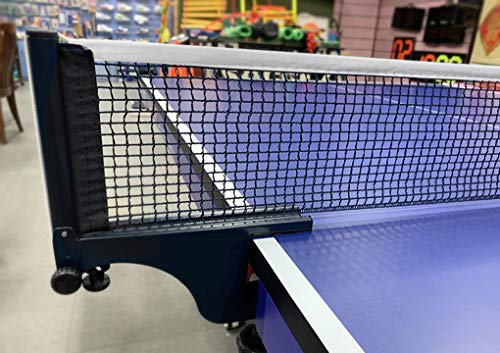RUIXIA Tragbares Tischtennisnetze Tischtennis Netze, Ping Pong Ersatznetz Einfachen Montage An Tischplatten, TischtenniszubehörPerfekt für Schule, Haushalt, Sportverein, Büro